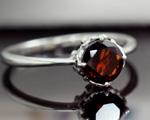 1月の誕生石 ガーネット リング(指輪)